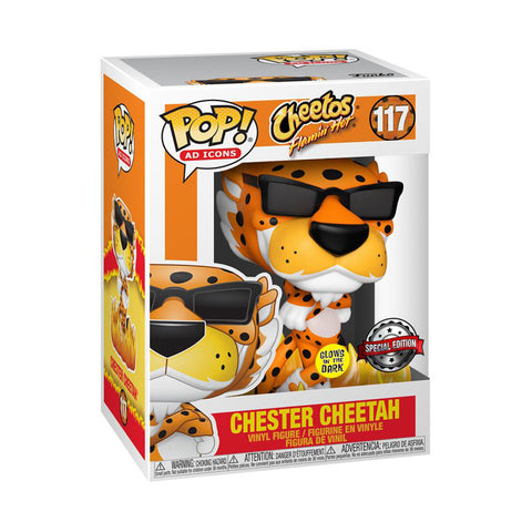 Ad Icons - Cheetos Flaming Hot Chester Glow US Exclusive Pop! Vinyl