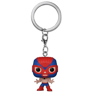 Spider-Man - Luchadore Spider-Man Pocket Pop! Keychain