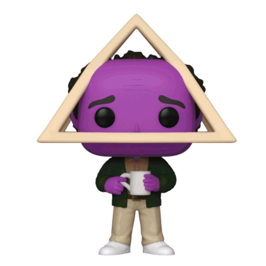 Seinfeld - George Holistic with Purple Face US Exclusive Pop! Vinyl