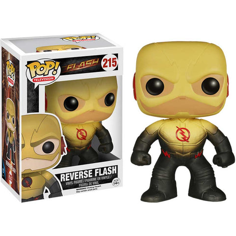 Flash - Reverse Flash Tv Pop Vinyl