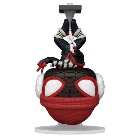 Marvel's Spider-Man: Miles Morales - Winter Suit Hanging US Exclusive Pop! Vinyl