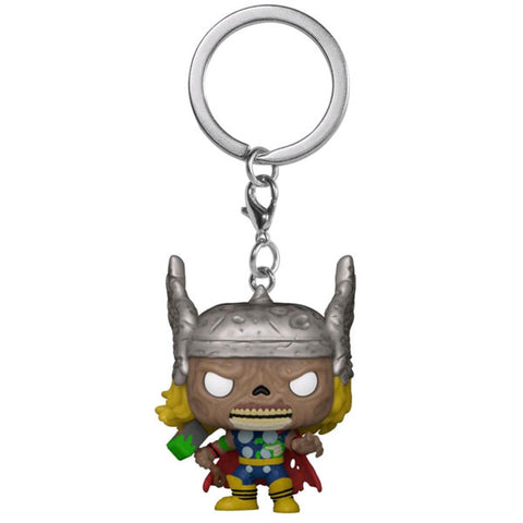 Image of Marvel Zombies - Thor Pocket Pop! Keychain