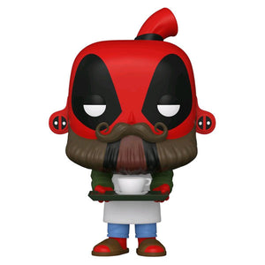 Deadpool - Coffee Barista 30th Anniversary Pop! Vinyl