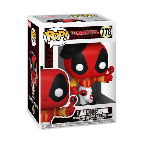 Deadpool - Flamenco Deadpool 30th Anniversary Pop! Vinyl