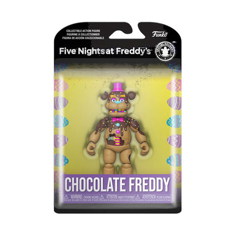 Image of Five Nights at Freddy's - Freddy Chocolate Action Figure