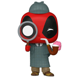 Deadpool - Sherlock Deadpool 30th Anniversary US Exclusive Pop! Vinyl