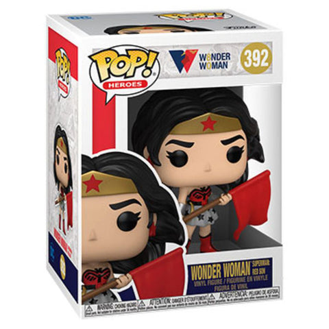 Wonder Woman - Wonder Woman Red Son 80th Anniversary US Exclusive Pop! Vinyl