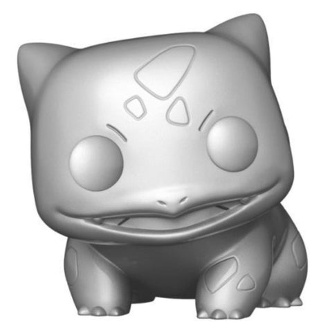 "Image of Pokemon - Bulbasaur Silver Metallic 25th Anniversary US Exclusive 10"" Pop! Vinyl"