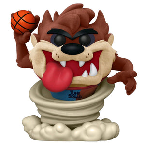 Space Jam 2: A New Legacy - Taz Flocked US Exclusive Pop! Vinyl