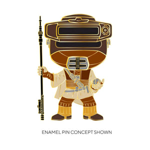 "Star Wars - Leia Boushh 4"" Pop! Enamel Pin"