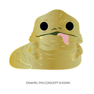 "Star Wars - Jabba the Hutt 4"" Pop! Enamel Pin"
