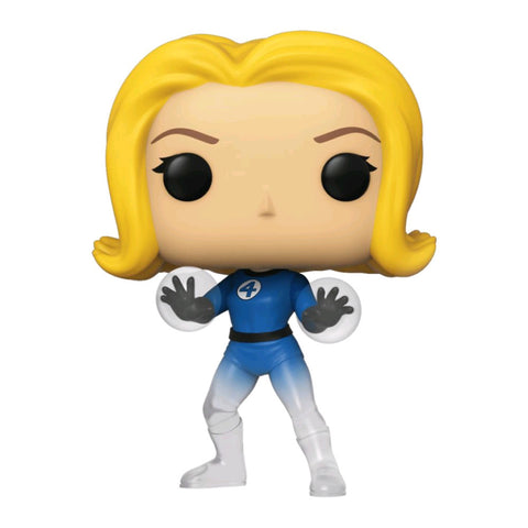 Fantastic Four - Invisible Girl Translucent US Exclusive Pop! Vinyl