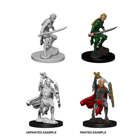 Image of Dungeons & Dragons - Nolzur's Marvelous Unpainted Minis: Elf Female Fighter