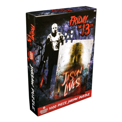 Image of Friday the 13th - Jason Lives 1000 piece Jigsaw Puzzle