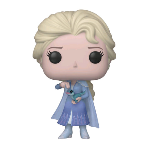 Frozen II - Elsa with Salamander US Exclusive Pop! Vinyl [RS]