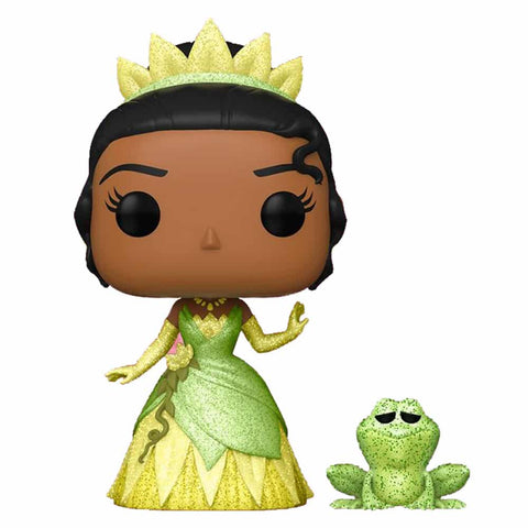 Image of The Princess and the Frog - Tiana & Naveen Glitter US Exclusive Pop! Vinyl