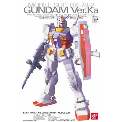 Image of MG 1/100 RX-78-2 Gundam (Ver.Ka)