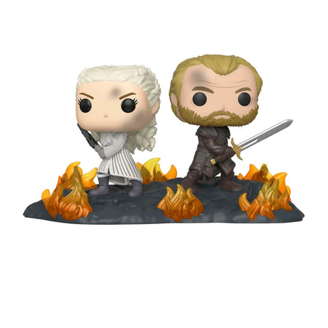 Game of Thrones - Daenerys And Jorah Back to Back Movie Moment Pop! Vinyl