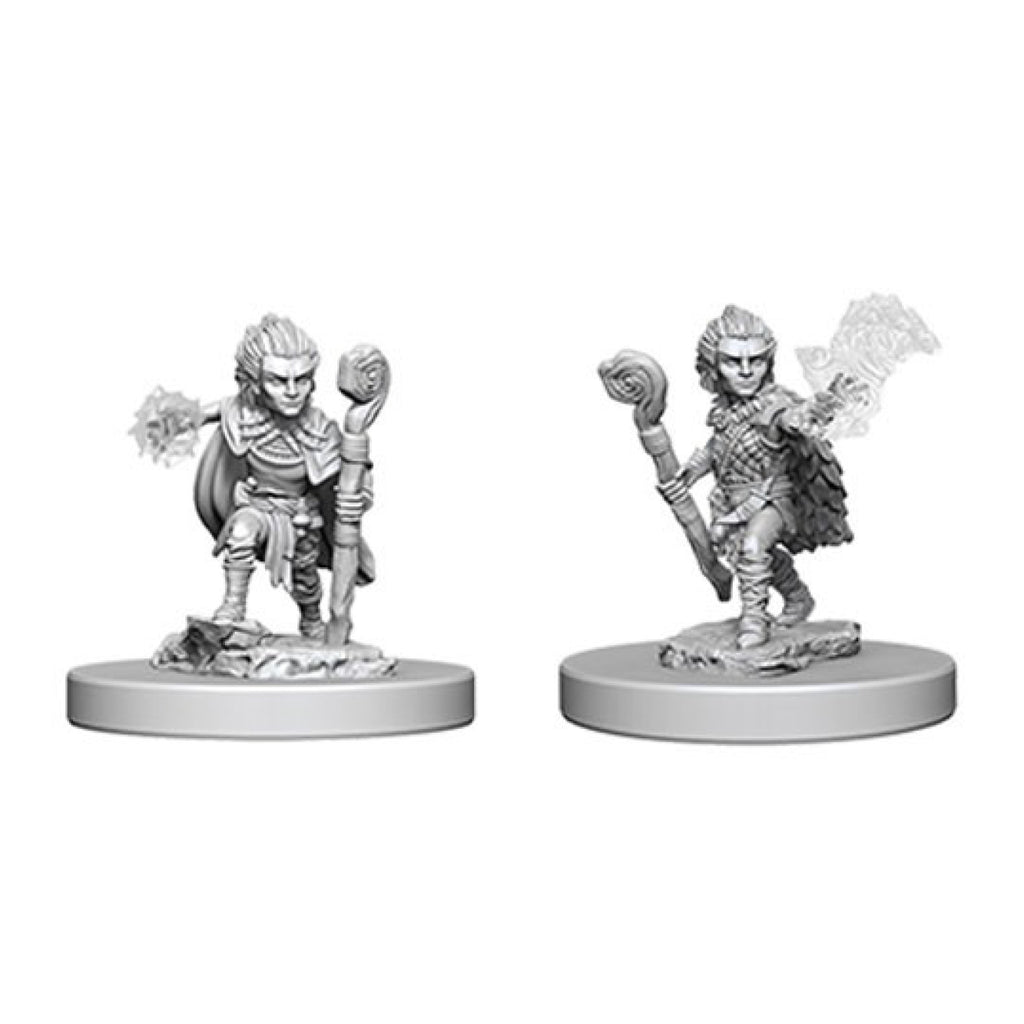 Pathfinder Unpainted Minis Gnome Male Druid