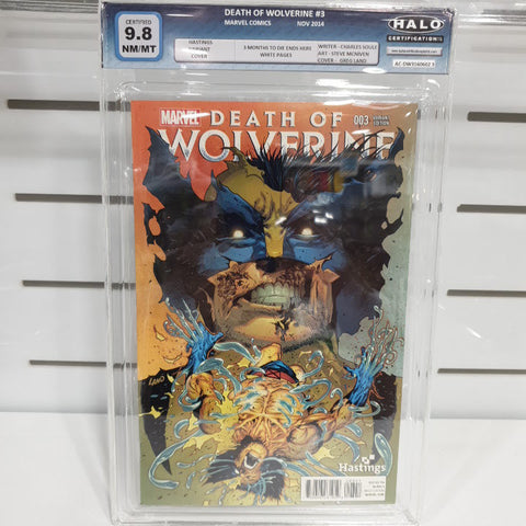 Image of Death Of Wolverine Hastings Set of 4 Graded 9.6 to 9.8