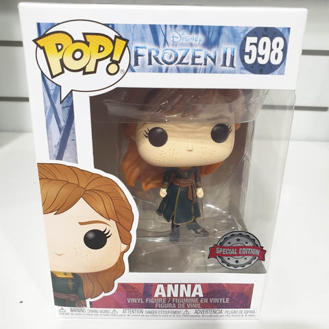 Frozen 2 - Anna Travelling Pop Vinyl