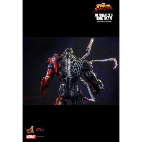 "Image of Venom - Venomized Iron Man 1:6 Scale 12"" Action Figure"