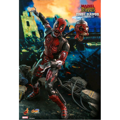"Marvel Zombies - Deadpool 1:6 Scale 12"" Action Figure"