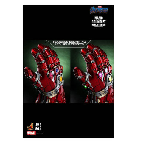 Image of Avengers 4: Endgame - Nano Gauntlet (Hulk Version) 1:1 Scale Replica