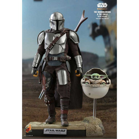 "Star Wars: The Mandalorian - Mandalorian & The Child Deluxe 1:6 Scale 12"" Action Figure"