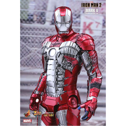 Image of Iron Man 2 - Mark V Diecast 1:6 Scale