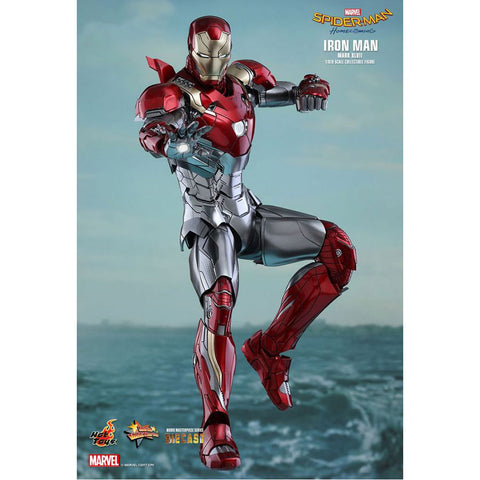 "SpiderMan: Homecoming - Iron Man Mk XLVII 12"" 1:6 Scale Diecast Action Figure"