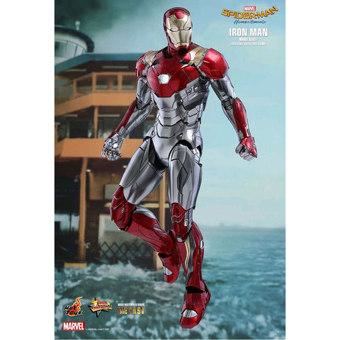 "Image of SpiderMan: Homecoming - Iron Man Mk XLVII 12"" 1:6 Scale Diecast Action Figure"