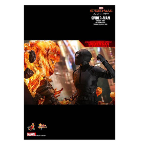 "Image of Spider-Man: Far From Home - Stealth Suit Deluxe 12"" 1:6 Scale Action Figure"