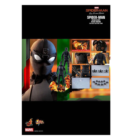"Spider-Man: Far From Home - Stealth Suit Deluxe 12"" 1:6 Scale Action Figure"