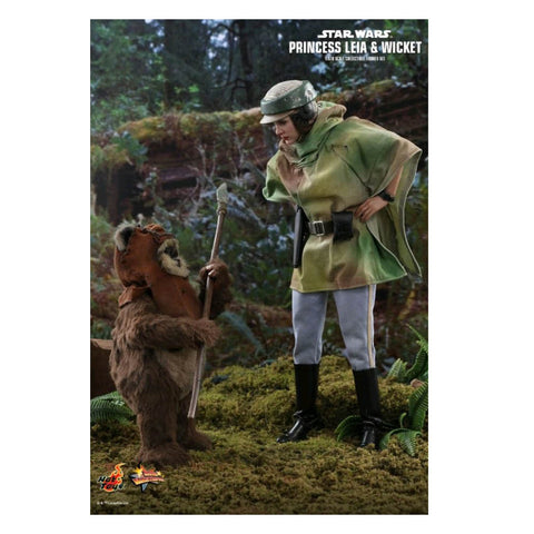 Star Wars - Leia & Wicket Return of the Jedi 1:6 Scale Acton Figure