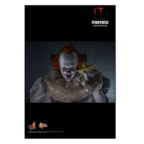 "It: Chapter 2 - Pennywise with Balloon 1:6 Scale 12"" Action Figure"
