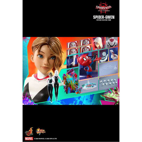 "Image of Spider-Man: Into the Spider-Verse - Spider-Gwen 1:6 Scale 12"" Action Figure"