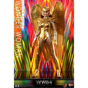 "Wonder Woman: 1984 - Golden Armor 1:6 Scale 12"" Action Figure"