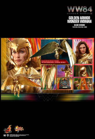 "Wonder Woman: 1984 - Golden Armor Deluxe 1:6 Scale 12"" Action Figure"