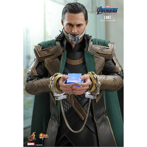 "Image of Avengers 4: Endgame - Loki 1:6 Scale 12"" Action Figure"