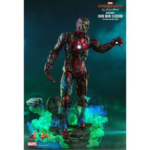 "Image of Spiderman: Far From Home - Mysterios Iron ManIllusion 1:6 Scale 12"" Action Figure"