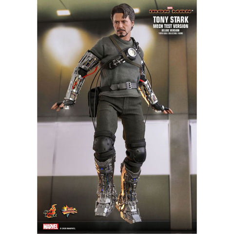 "Iron Man - Tony Stark Mech Test Deluxe 1:6 Scale 12"" Action Figure"