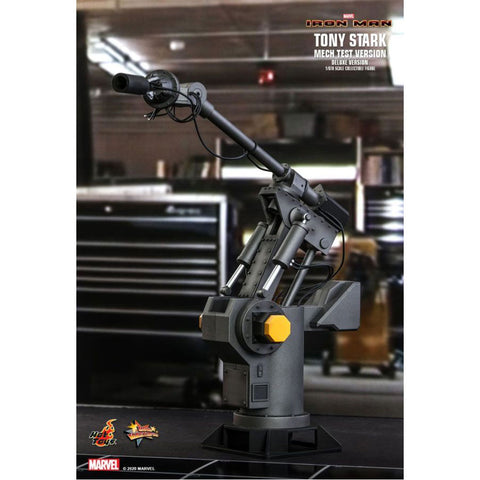 "Image of Iron Man - Tony Stark Mech Test Deluxe 1:6 Scale 12"" Action Figure"
