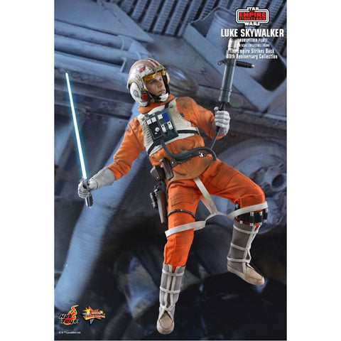 "Image of Star Wars - Luke Skywalker Snowspeeder Pilot 40th Anniversary 1:6 Scale 12"" Action Figure"