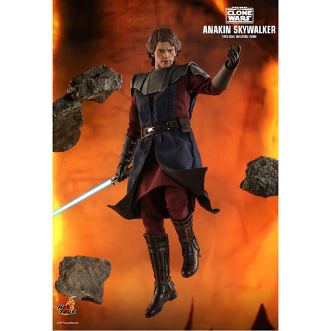 "Image of Star Wars: Clone Wars - Anakin 1:6 Scale 12"" Action Figure"