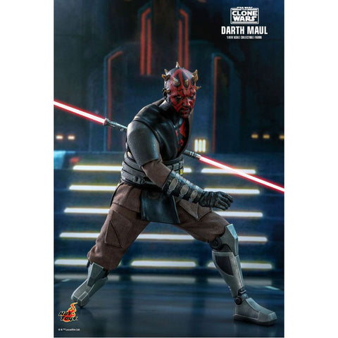 "Image of Star Wars: The Clone Wars - Darth Maul 1:6 Scale 12"" Action Figure"