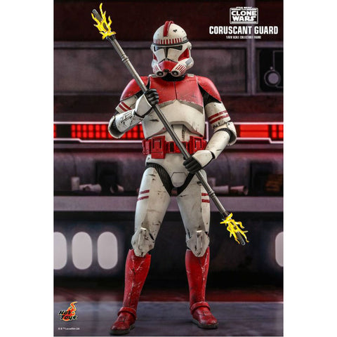 "Image of Star Wars: The Clone Wars - Coruscant Guard 1:6 Scale 12"" Action Figure"