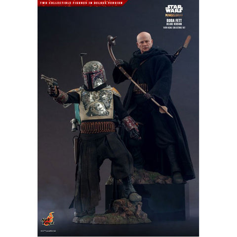 "Star Wars: The Mandalorian - Boba Fett Deluxe 1:6 Scale 12"" Action Figure"