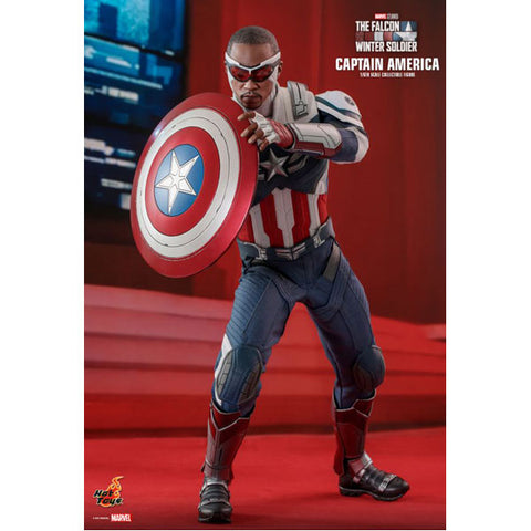 "Falcon Winter Soldier - Captain America 1:6 Scale 12"" Action Figure"