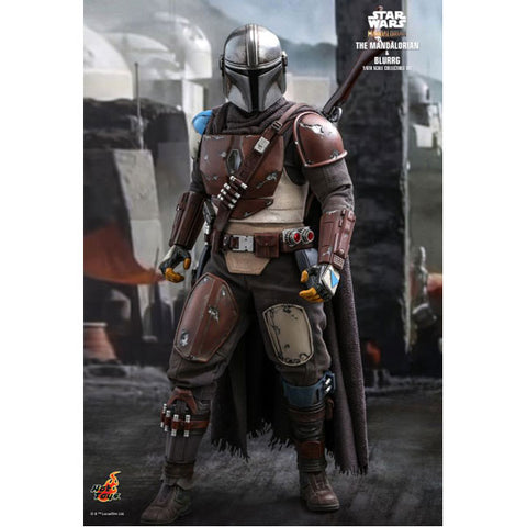Star Wars: The Mandalorian - Mandalorian & Blurrg 1:6 Scale Action Figure Set